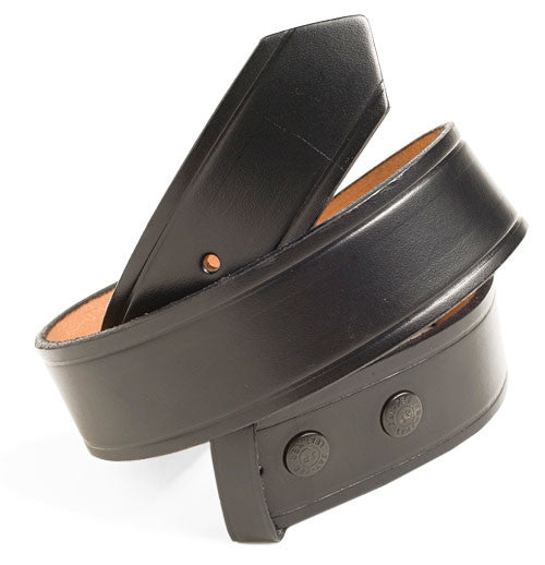 Belt - Black Leather - 1 1/2