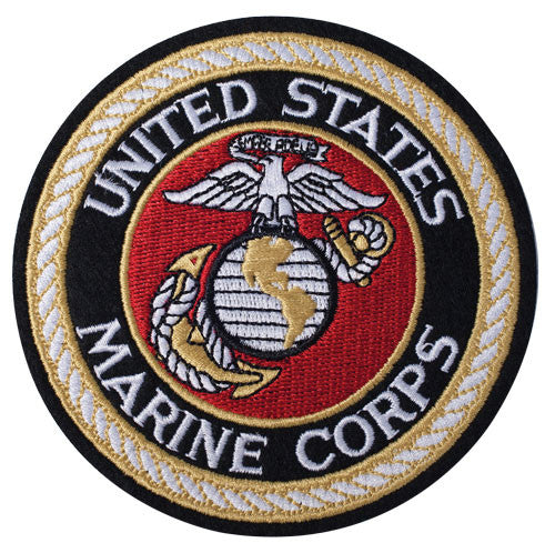 Patch - USMC Black 4