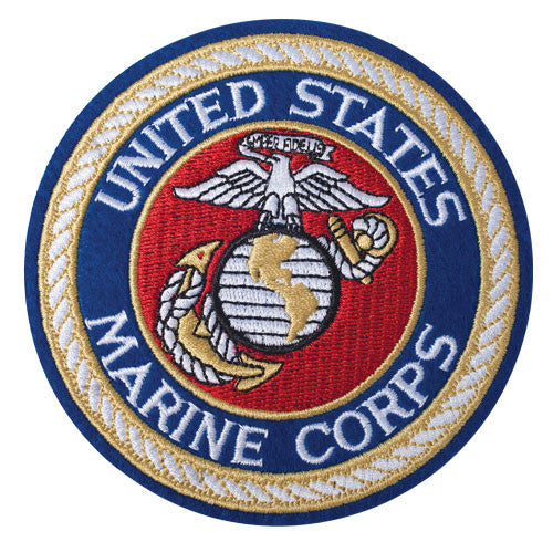 Patch - USMC Blue 4