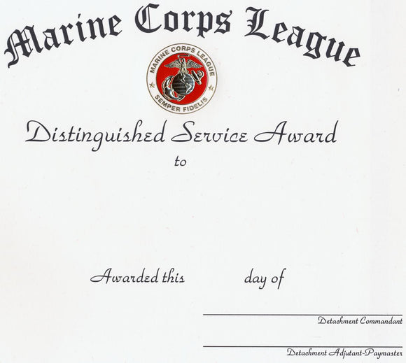 Distinguished Service - Detachment Unlettered