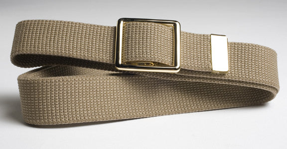 Belt- Khaki with Buckle