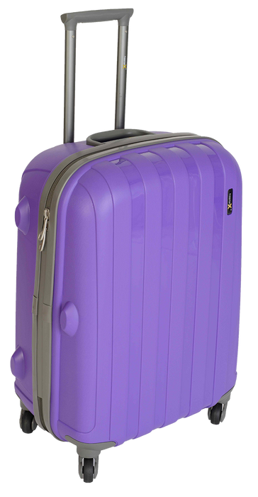 Purple LuggageX