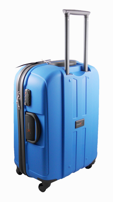 LuggageX 77cm Blue