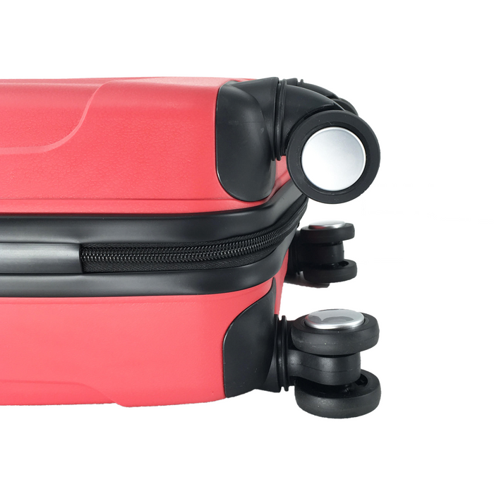 Red LuggageX Slimline Cabin Case