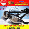 Premium Reflective Swimming Goggles (Optical Degree Prescription / Normal Vision)