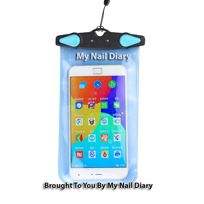 Premium Duplex Colour Flip Lock Waterproof Phone Pouch Bag