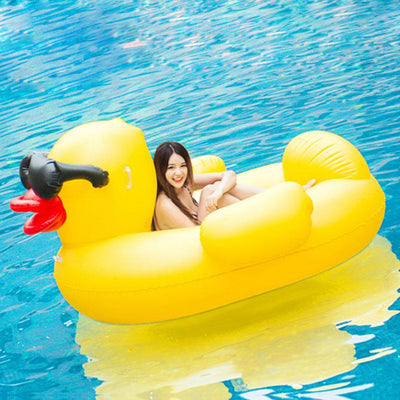 Yellow Rubber Duck Float