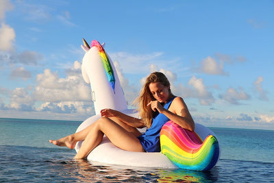 Giant Rainbow Unicorn Float