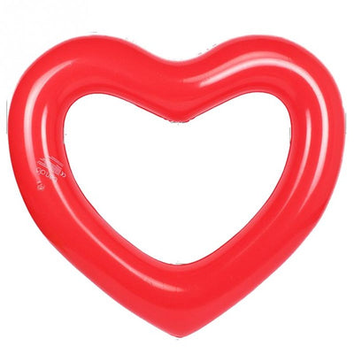 Red Heart Tube Float