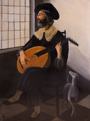 PUZZLE 200 - THE LUTE PLAYER