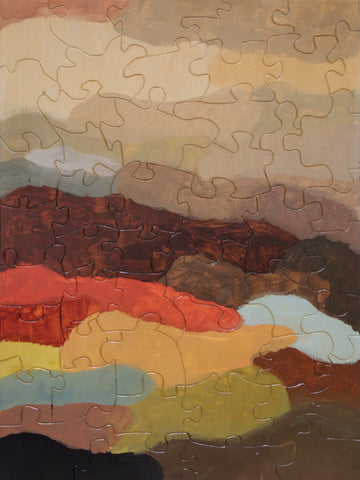 PUZZLE 215 - ABSTRACT - ROLLING HILLS