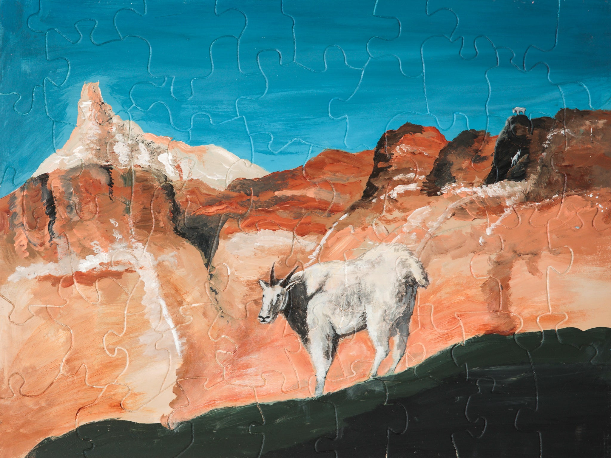 PUZZLE 234 - MOUNTAIN GOAT