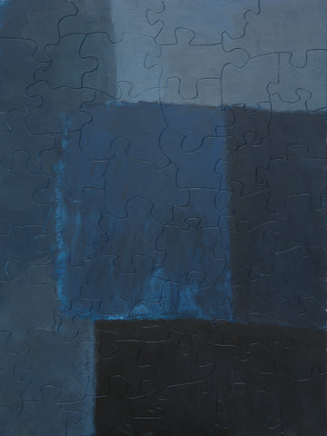 PUZZLE 249 - ABSTRACT - BLUE SQUARES