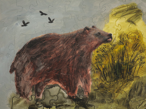 PUZZLE 274 - BEAR AND CROWS