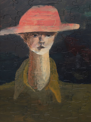PUZZLE 354 - BOY WITH RED HAT