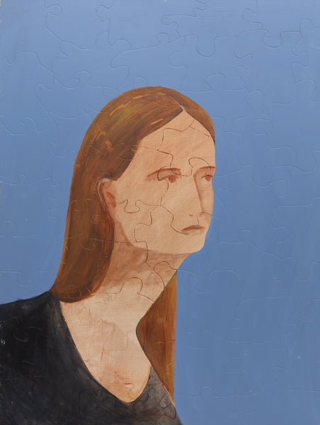 PUZZLE 377 - WOMAN WITH BROWN HAIR