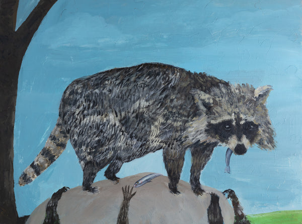 PUZZLE 384 - RACCOONS