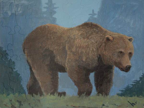 PUZZLE 433 - THE SOMBER BROWN BEAR