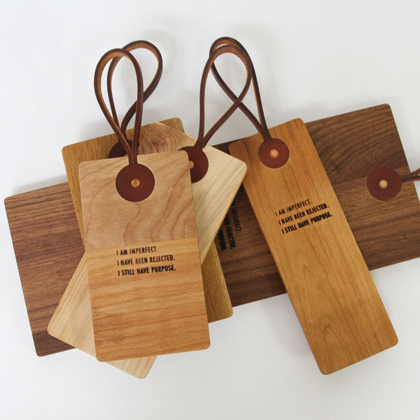 LEATHER STRAP CUTTING BOARDS - SECONDS