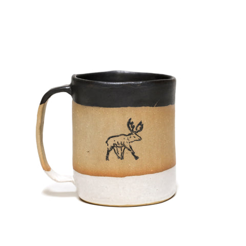 M. CROW MUG - MOOSE SERIES 01