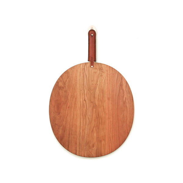 THIN OVAL CUTTING BOARD