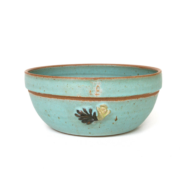 CERAMIC FRUIT BOWL - FLOWER