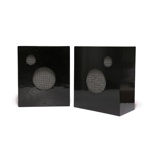 M. CROW SPEAKERS BY PHILA AUDIO CORP. - BLACK
