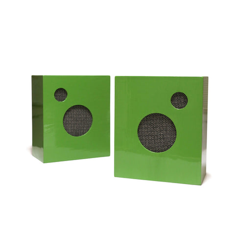 M. CROW SPEAKERS BY PHILA AUDIO CORP. - GREEN