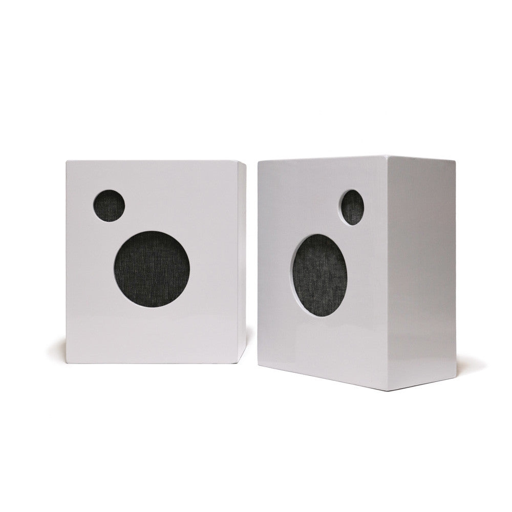 M. CROW SPEAKERS BY PHILA AUDIO CORP. - GREY