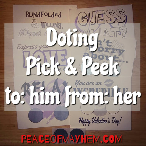 Doting Pick & Peek Pack for Him