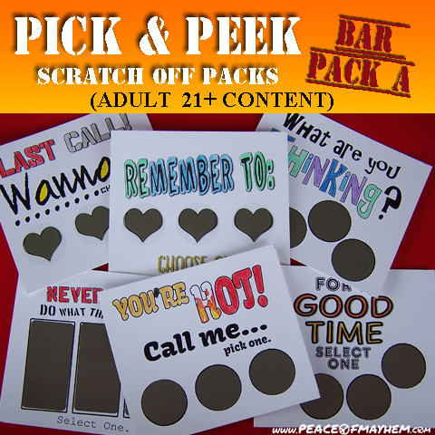 Pick & Peek Bar Pack A