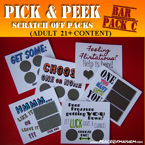 Pick & Peek Bar Pack D