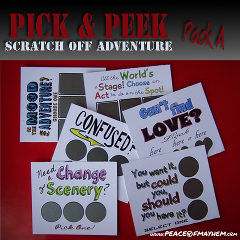 Pick & Peek Pack A