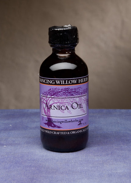 Arnica Oil - Dancing Willow Herbs oil - herbal formulas