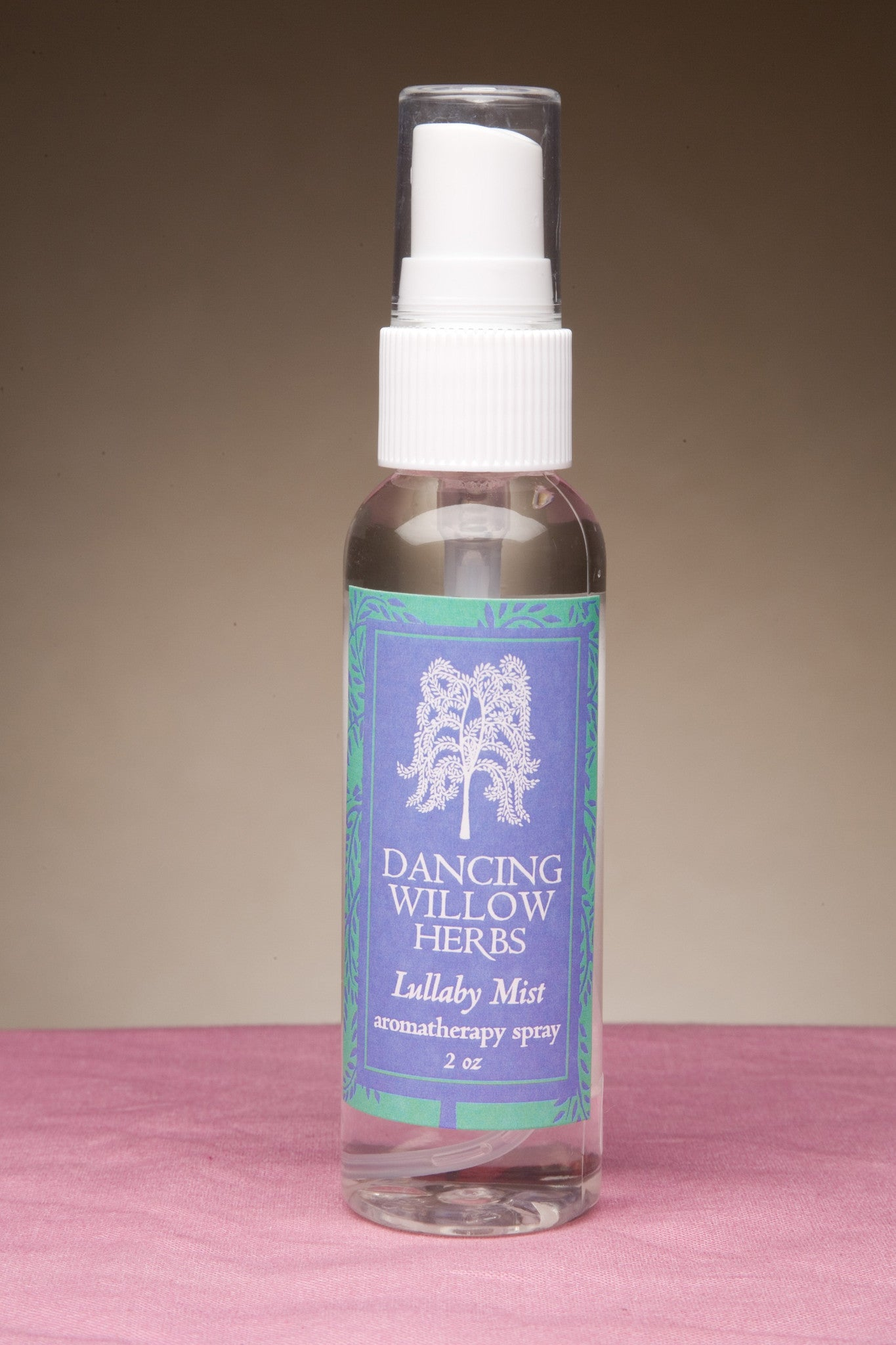 Lullaby Mist - Dancing Willow Herbs Room spray - herbal formulas