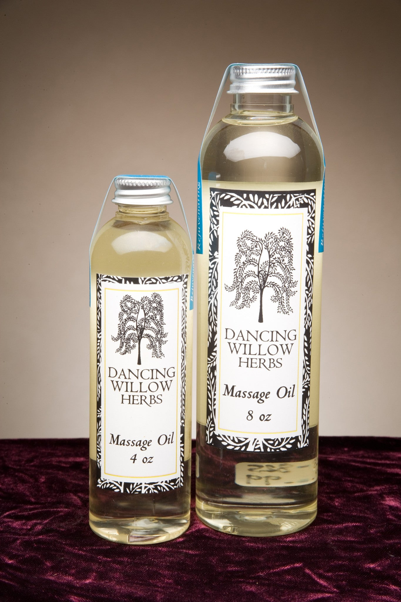 Dancing Willow Massage Oils 8oz - Dancing Willow Herbs oil - herbal formulas