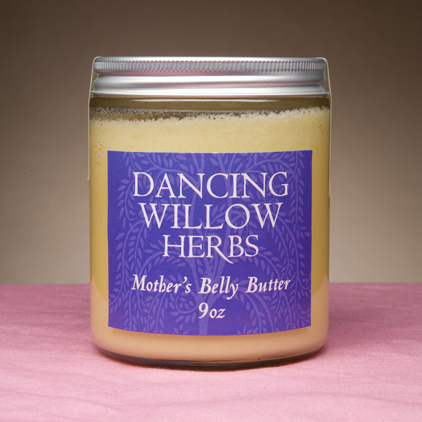 Mother's Belly Butter - Dancing Willow Herbs body butter - herbal formulas