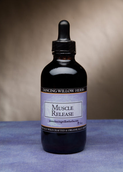 Muscle Release - Dancing Willow Herbs Herbal Formulas - herbal formulas