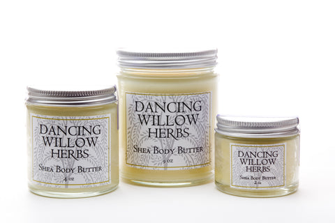 White Peony Body Butter - Dancing Willow Herbs body butter - herbal formulas
