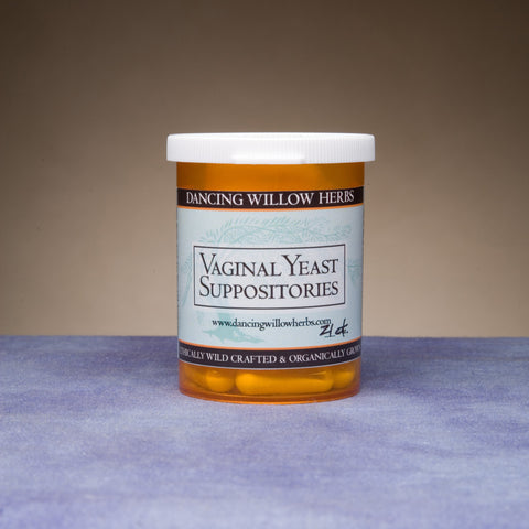 Vaginal Yeast Suppositories - Dancing Willow Herbs suppository - herbal formulas