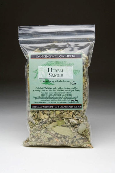 Herbal Smoke 2oz - Dancing Willow Herbs Herbal Smoke - herbal formulas