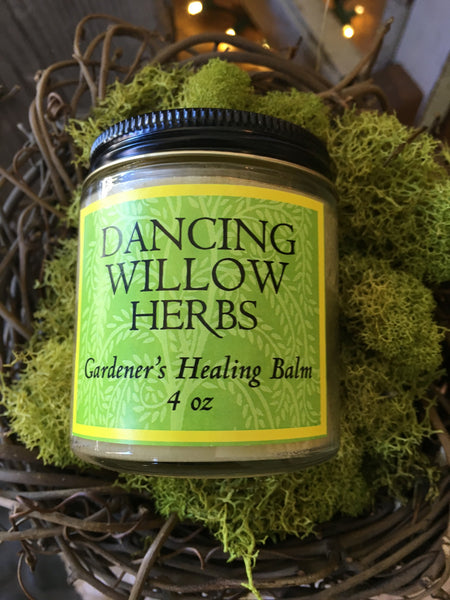 Gardener's Healing Balm - Dancing Willow Herbs balm - herbal formulas