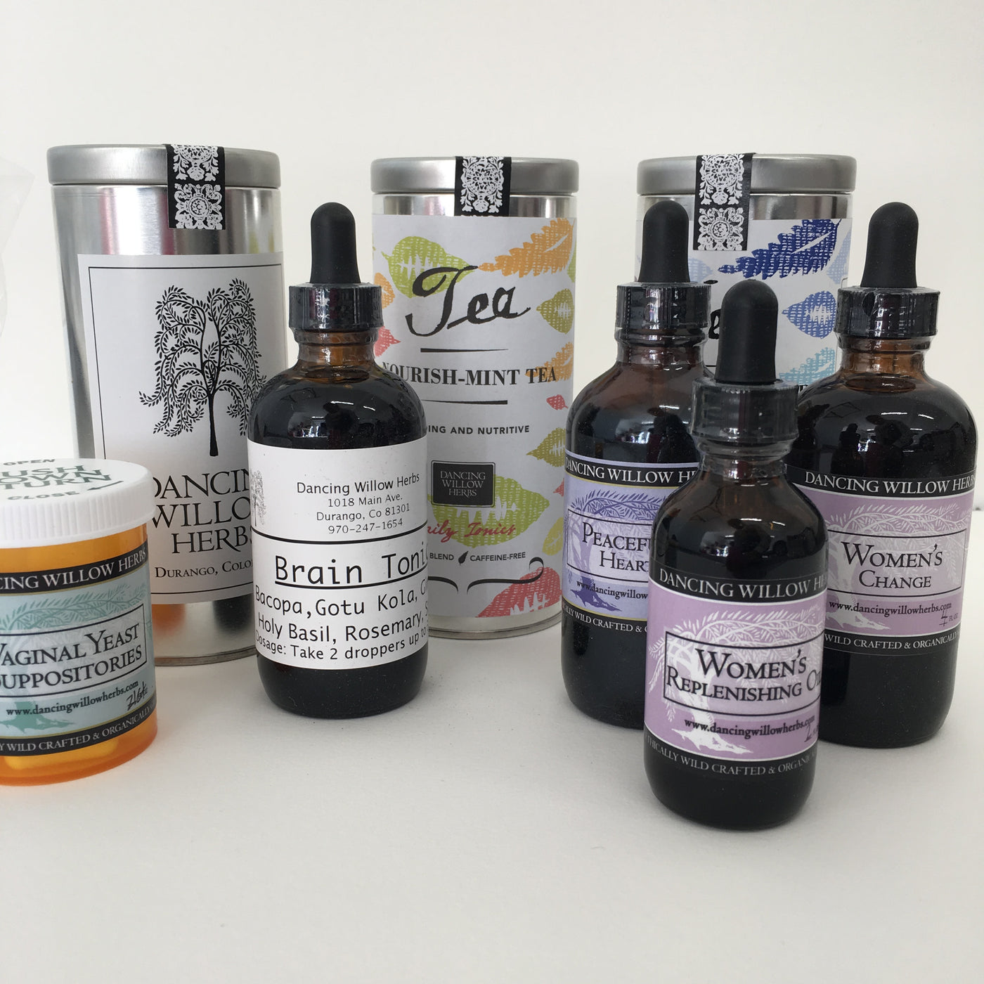 Women's Wellness Package - Dancing Willow Herbs Herbal Formulas - herbal formulas