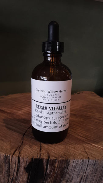 Reishi Vitality - Dancing Willow Herbs Herbal Formulas - herbal formulas