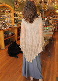 Crocheted Nettle Shawl or Scarf