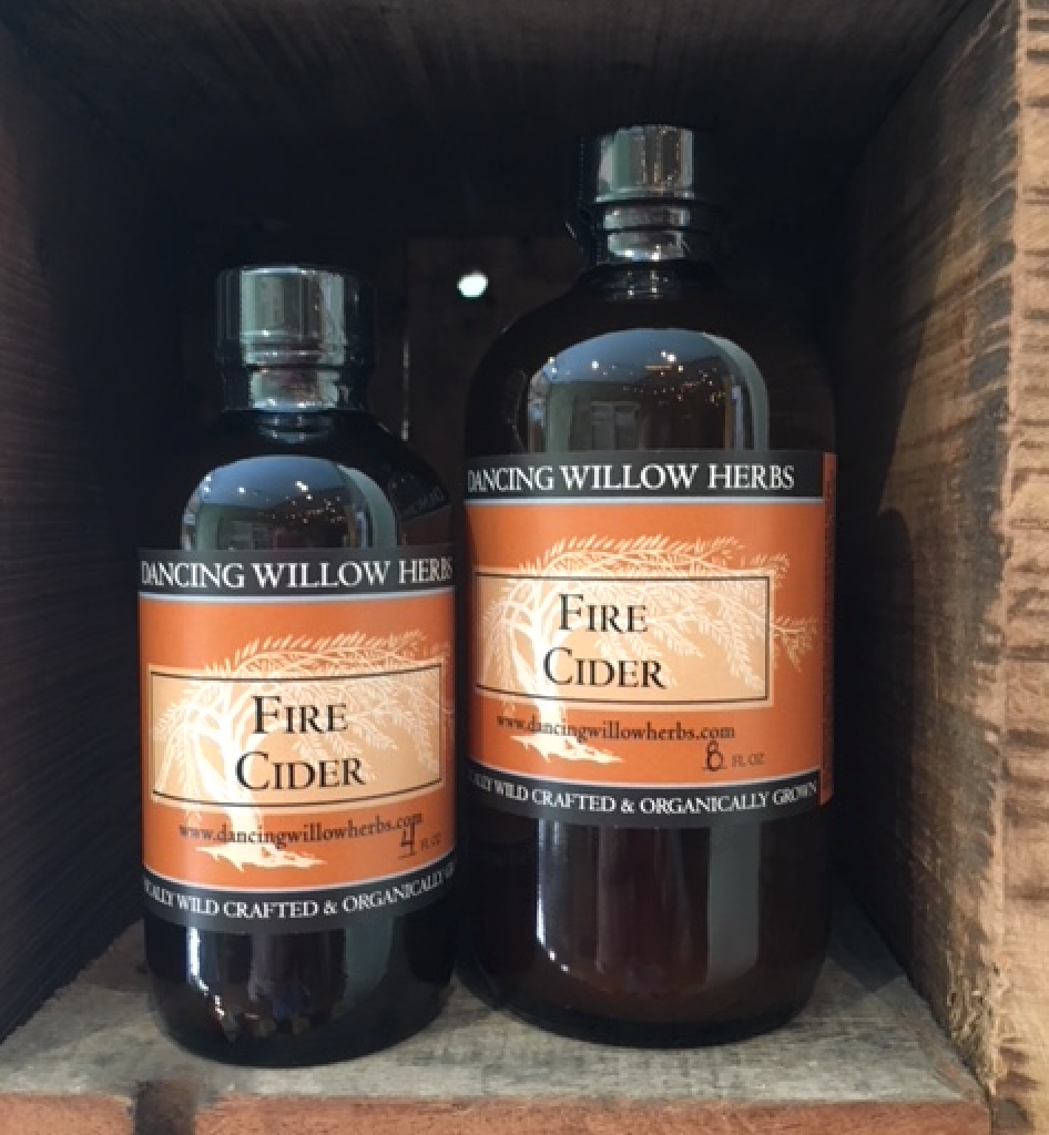 Fire Cider - Dancing Willow Herbs Fire Cider - herbal formulas