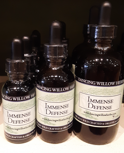 Immense Defense - Dancing Willow Herbs Herbal Formulas - herbal formulas