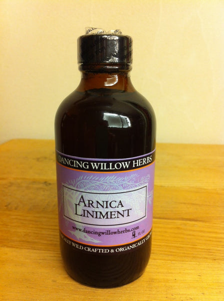 Arnica Liniment - Dancing Willow Herbs Liniment - herbal formulas