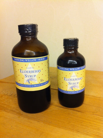 Elderberry Syrup (for adults & kids) - Dancing Willow Herbs syrup - herbal formulas