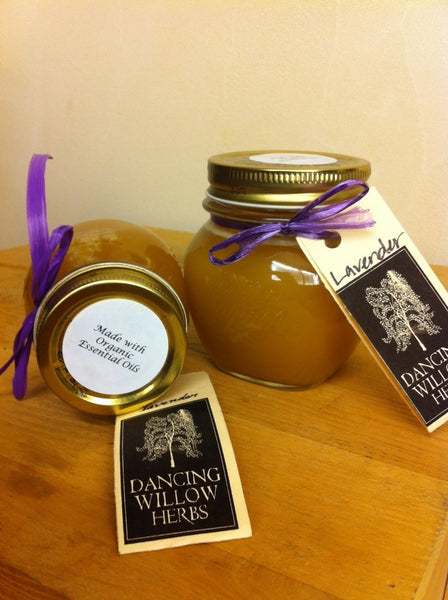 Lavender Essential Honey - Dancing Willow Herbs herbal honey - herbal formulas